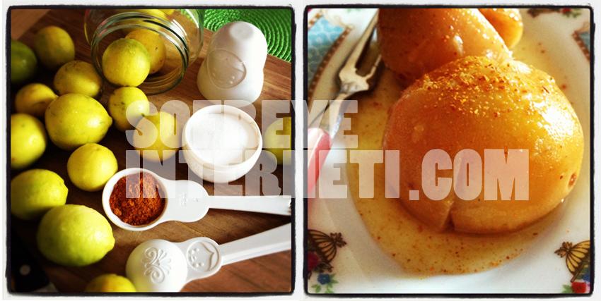 ثواب ؛ کباب با ترشی لیمو